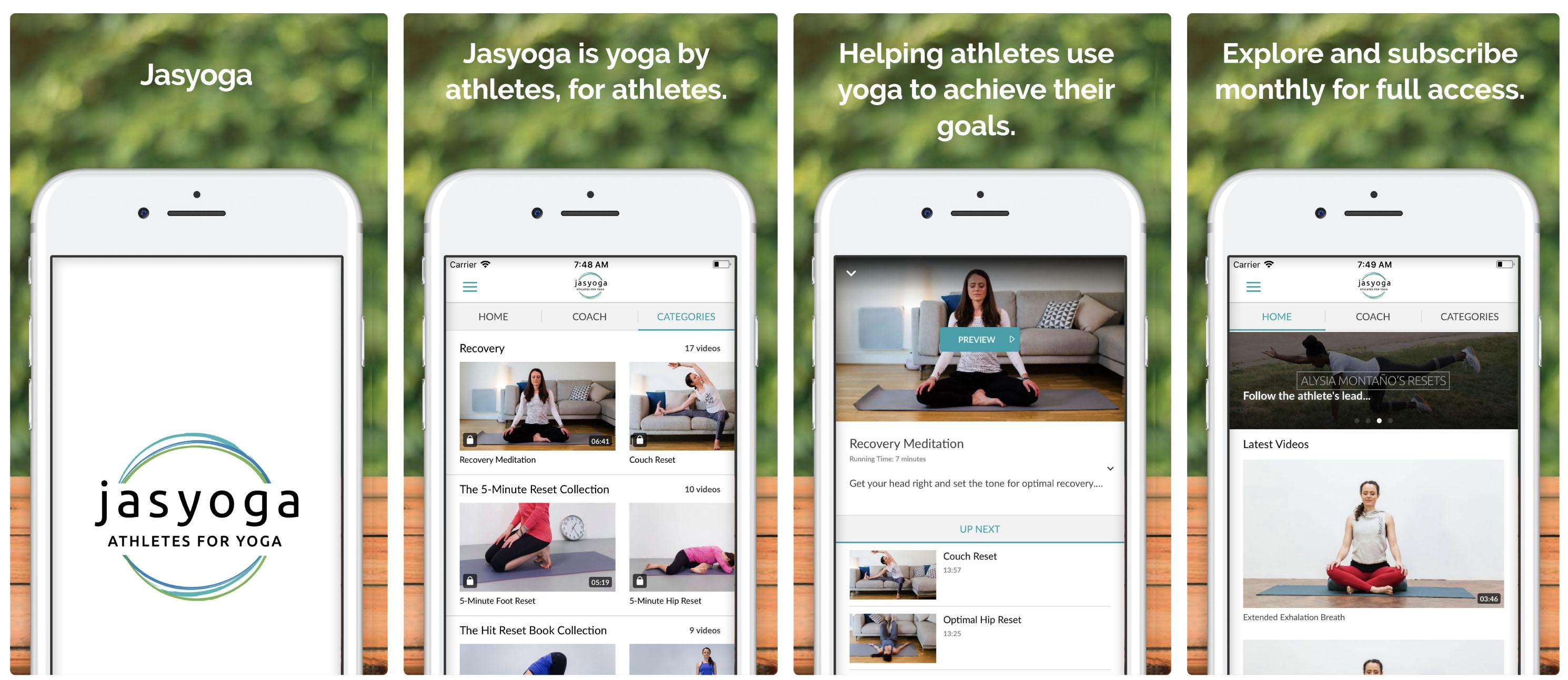 VidApp Customer Spotlight: Jasyoga,